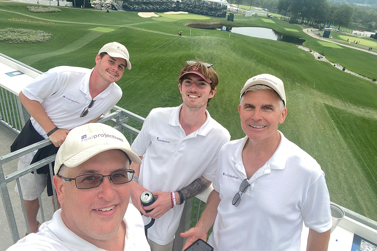 Jonathan Williams (front), Connor Jones, Parker Aylor, Jay Huit