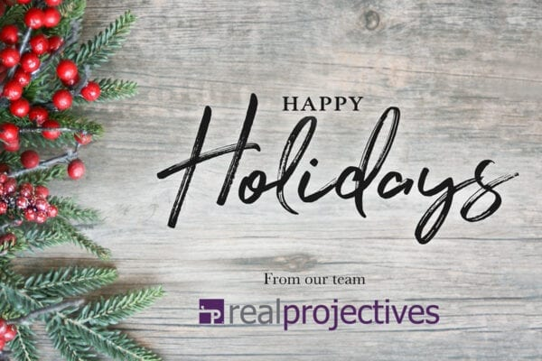 Happy Holidays 2020 from the Real Projectives Team